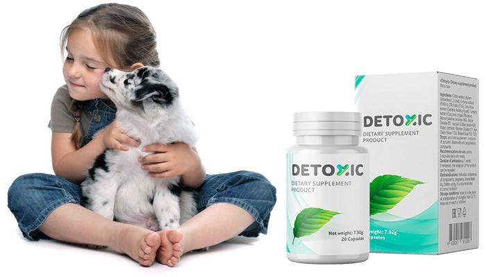 Detoxic: ช่วยถ่ายพยาธิได้อย่างมีประสิทธิภาพ!
