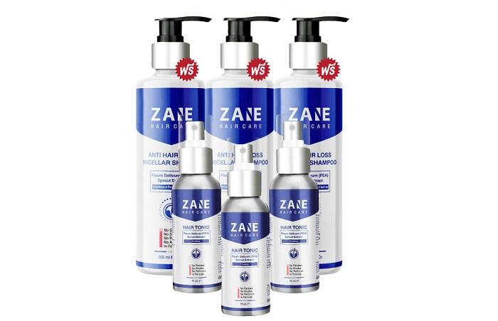 Zane hair care จากผมการสูญเสีย: ที่ดีที่สุดที่เครื่องมือสำหรับหนายิงไม่เข้าหรอกผม!