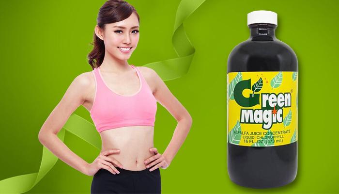 Green Magic เพื่อทำความสะอาดร่างกาย: คลอโรฟิลล์น้ำเข้มข้น